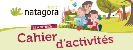 Natagora offre un cahier d'activités à faire avec les enfants