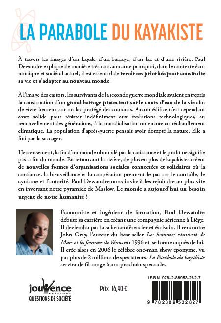 Paul Dewandre : « La parabole du kayakiste »