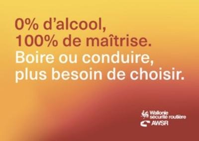 Boire ou conduire, plus besoin de choisir : consommons à 0 % Alcool