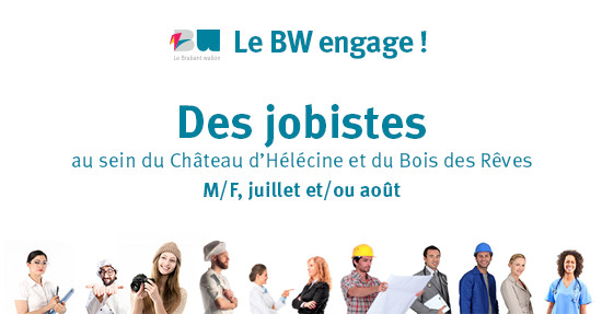 Jobs étudiants : Le Brabant wallon engage !