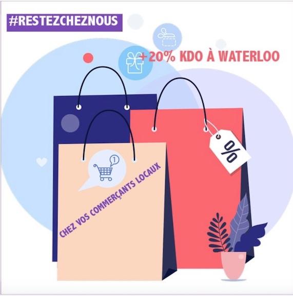 """Profitez d'un bon """"#RestoChezNous"""" et soutenez l'HORECA à Waterloo"""