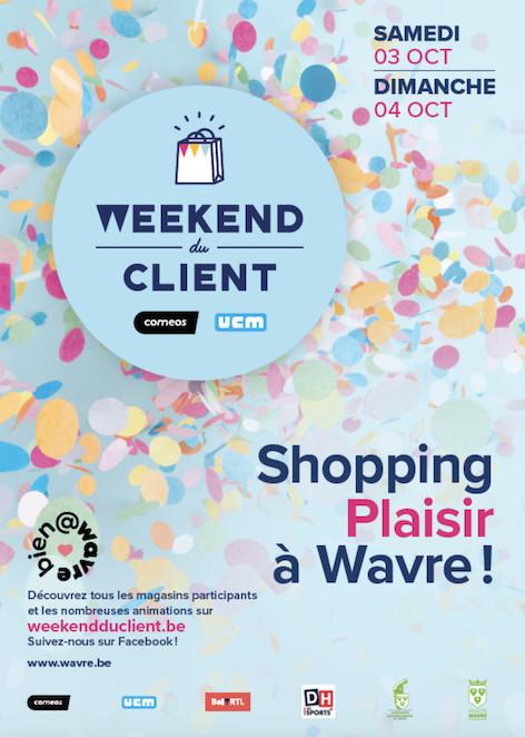 Weekend du client 2020 : Wavre soutient ses commerçants, voici le programme.