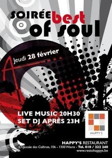 Soirée Best of Soul