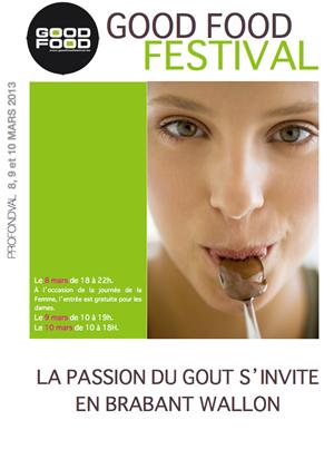 GOOD FOOD FESTIVAL - LE SALON DU GOÛT ET DE LA GOURMANDISE