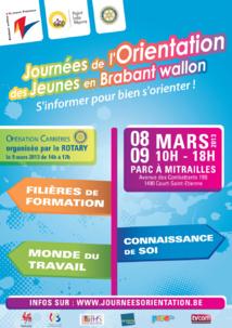 Journées de l'Orientation des jeunes en Brabant wallon.