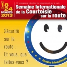 Wavre : 23 mars 2013 – Activités organisées dans le cadre de la « Semaine européenne de la Courtoisie sur la route »