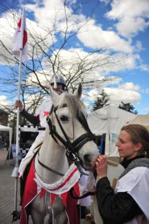 Les festivités de la Saint-Georges à Grez-Doiceau