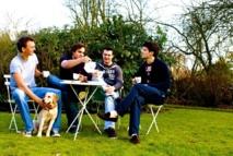 De gauche à droite : Jonathan, Alexis, Sébastien & Jean
