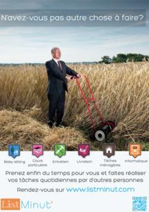 List Minut' - La plateforme d'échange de services entre particuliers s'ouvre au BW et à Bruxelles