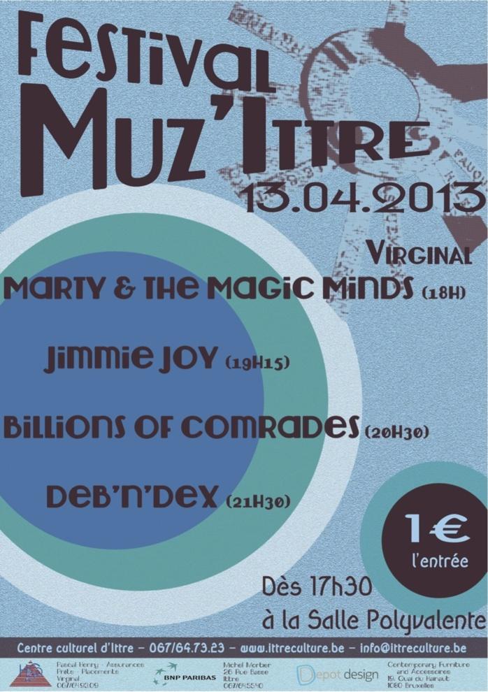 Muz'Ittre Festival - 13 avril