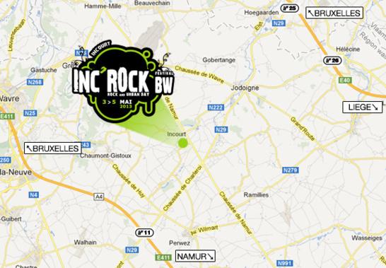 Inc'Rock Festival BW