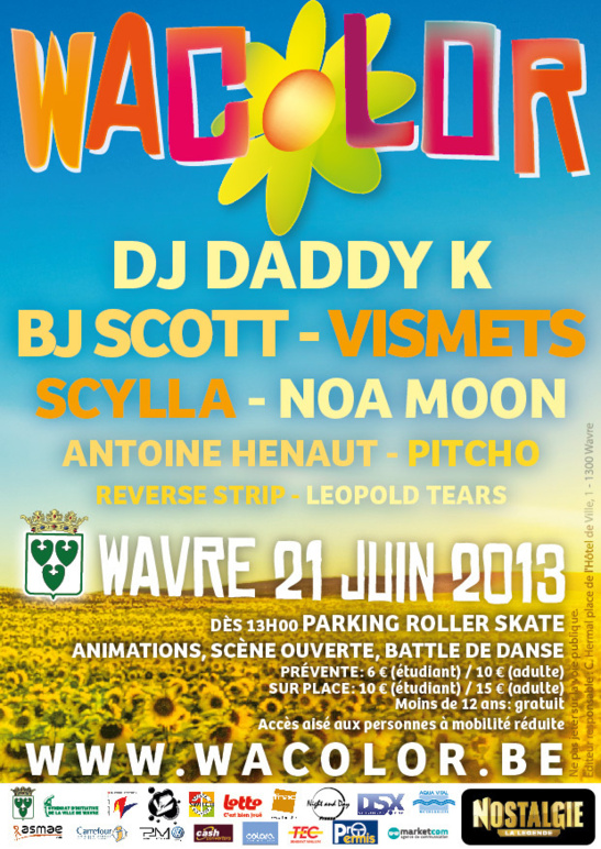 Troisième édition du festival musical : Wacolor !