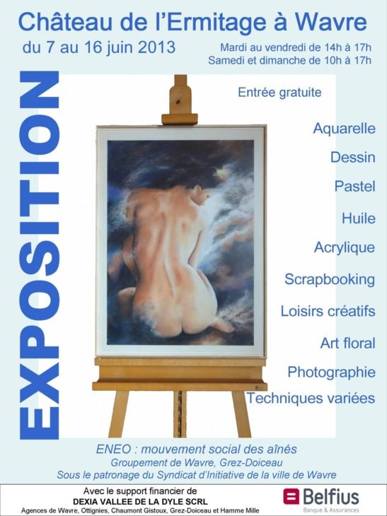 Expo Multidisciplinaire à Wavre !