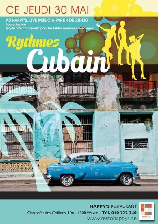 Rythmes Cubains au Happy's !