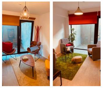 Location de cabinet et de bureaux full équipés pour les psychologues, thérapeutes, coachs, kinésithérapeutes