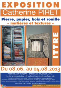 Exposition Catherine Piret à Ittre