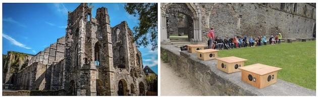 Le jeu du cloître à l'Abbaye de Villers-la-Ville