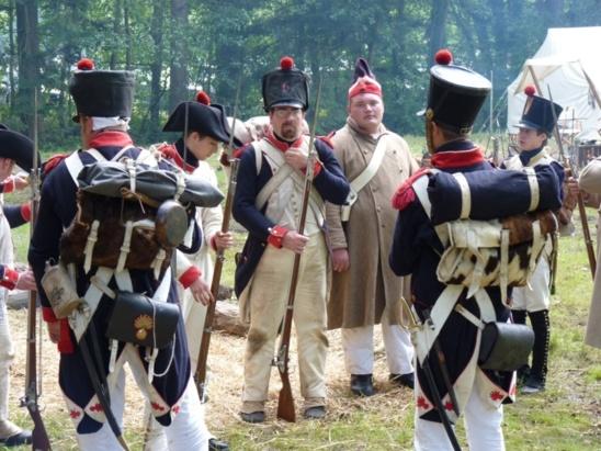 Wavre 1815, revivez la bataille. Reconstitution historique