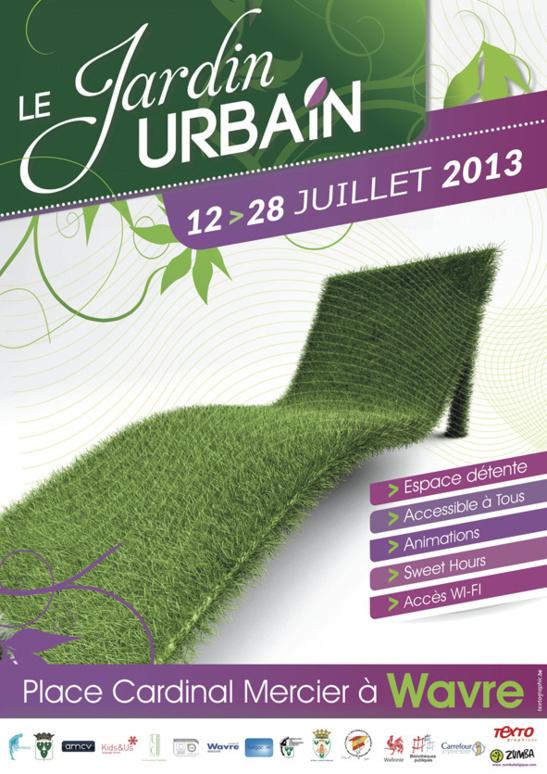 Jardin Urbain Wavre 2013