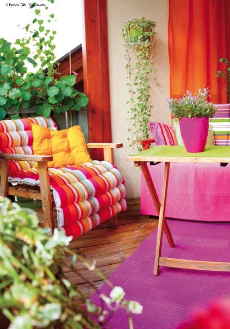 Conseil déco: la terrasse - Un petit coin de paradis...
