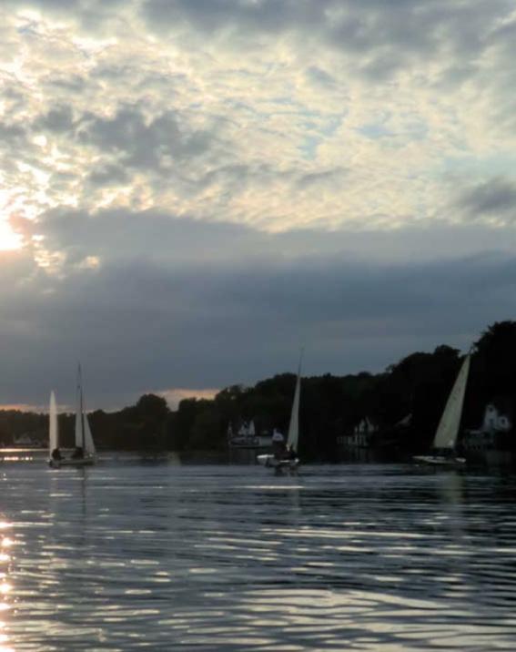 Genval : Les eaux du Lac