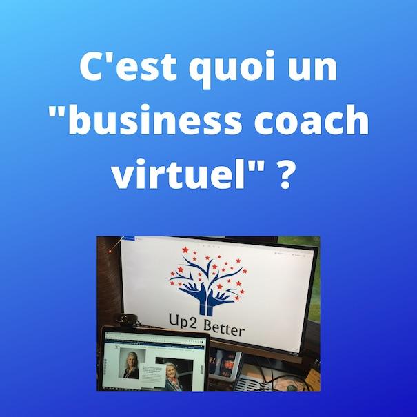 Coaching PME Brabant wallon | Un business coach virtuel c'est quoi