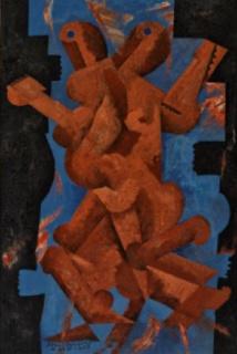 Jean-Jacques Gailliard, Les danseurs, huile sur toile, 1925, collection privée.