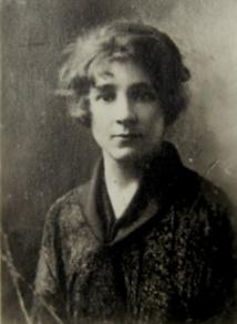 Marthe Donas en 1916