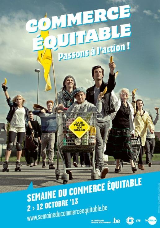 LA SEMAINE DU COMMERCE ÉQUITABLE À RIXENSART DU 2 AU 12 OCTOBRE 2013