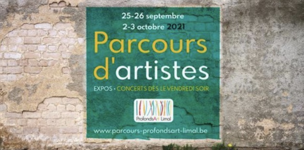 Wavre   Parcours d'artistes 25-26 septembre & 2-3 octobre 2021