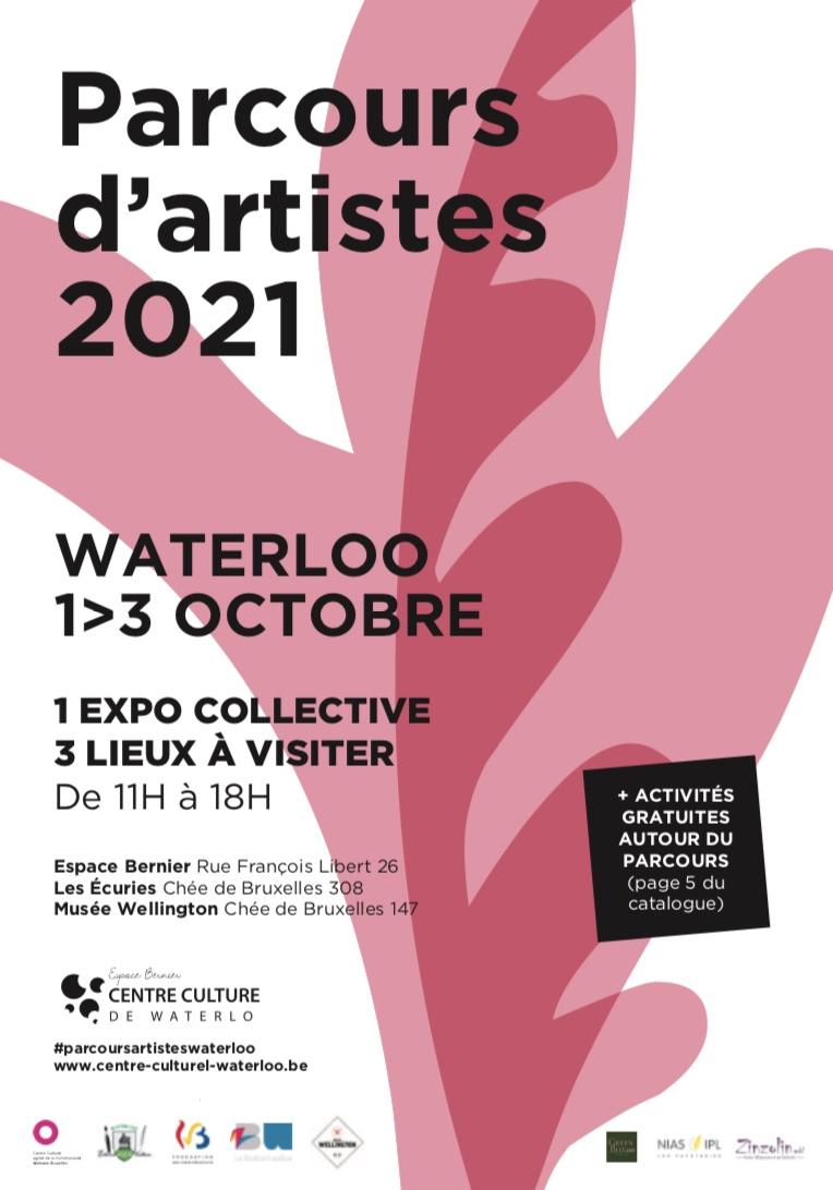 Parcours d'artistes Waterloo 2021 | Une expo collective qui met à l'honneur les artistes plasticiens waterlootois.