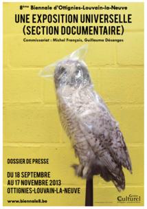 8ème Biennale d'Ottignies-Louvain-la-Neuve