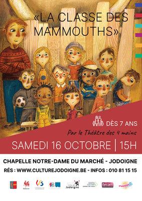 Jodoigne | Spectacle enfant : La classe des mammouths