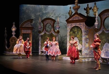 Du 2 au 20 décembre et le 31 décembre 2013, l'Atelier Théâtre Jean Vilar présente : L'Amant jaloux