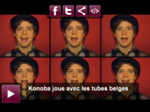 KONOBA passe les tubes belges en revue !