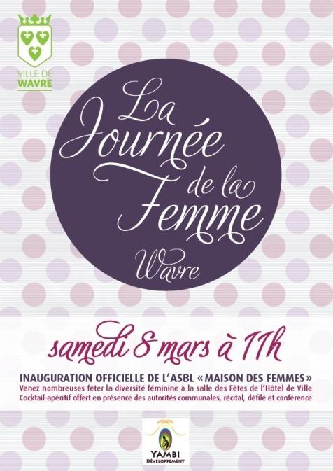 LA JOURNÉE DE LA FEMME À WAVRE