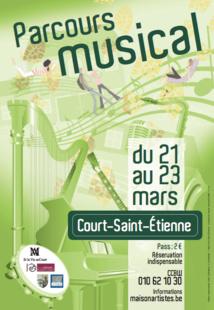 Court Saint Etienne : PARCOURS MUSICAL : Chez l'habitant et au Foyer populaire