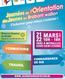 Journées de l'Orientation en Brabant wallon (21 et 22 mars)