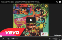 Ecoutez la chanson officielle du Mondial 2014 au Brésil !
