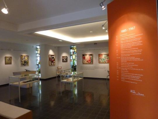 Exposition du 9 août au 7 septembre au musée Marthe Donas à Ittre