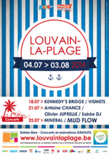Louvain La Plage 2014
