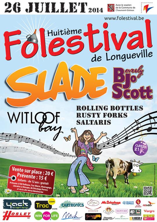 La 8ème édition du Folestival de Longueville!
