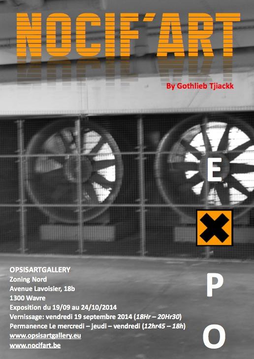 Wavre : Nocif'Art : (Expo)-drogues,pesticides et autres matières destructrices.