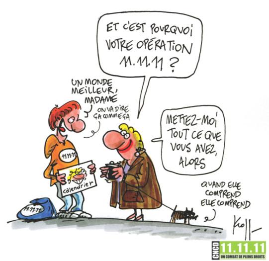Opération 11.11.11 : appel à volontaires dans le Brabant wallon !