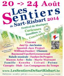 """Du mercredi 20 au dimanche 24 août, Incourt, """"Les Sentiers de Sart-Risbart"""""""