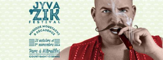 Court Saint Etienne : Musique, moustache et décadence au Jyva'Zik ces 31 octobre et 1er novembre !