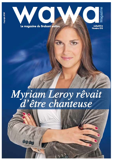 Myriam Leroy rêvait d'être chanteuse (People BW)