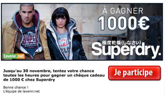 Concours SUPERDRY !