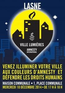 Ce 10 décembre Lasne sera « Ville Lumières »