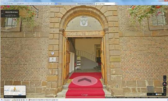 L'Hôtel de Ville de Wavre en Google Street View !